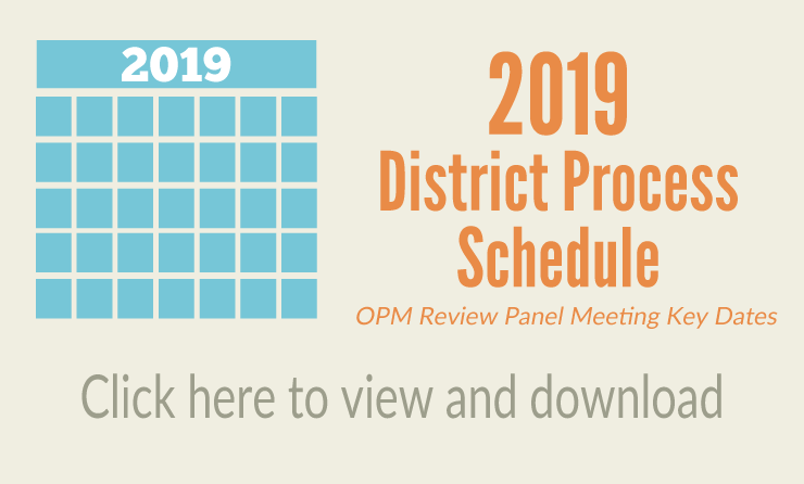Opm 2019 Calendar Owner's Project Manager (OPM) Process | Massachusetts School