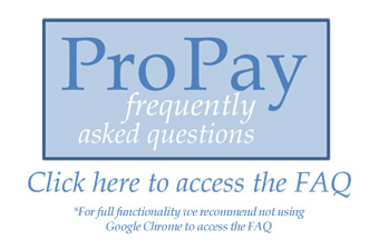 PRO-PAY progress payments - Click Here to Access the FAQs