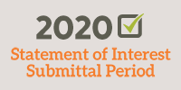 2020 Statement of Interest Submittal Period