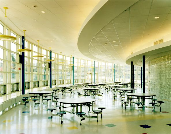 Fort Banks Elementary School Cafeteria