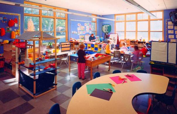 Williamstown Elementary School Classroom