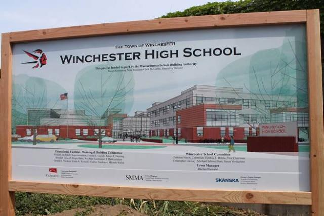 Winchester High School Groundbreaking Ceremony