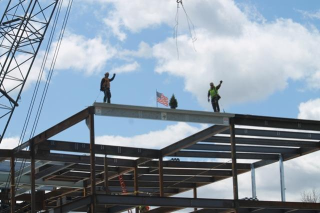 "Winthrop Middle/High School ""Topping Out"""