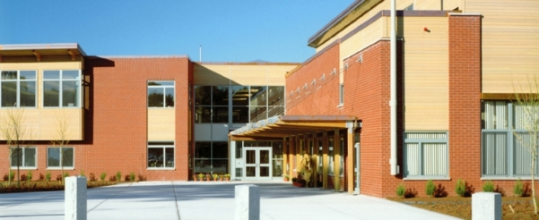 Chickering Elementary School Entrance