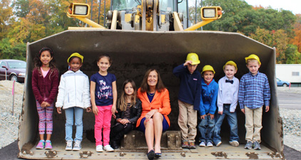i. Treasurer Goldberg at the Dedham Early Childhood Center Groundbreaking